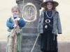 kinderen gaan verkleed op 30 april