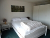 slaapkamer met terrasdeur