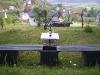 terras boven in de tuin met prachtig uitzicht